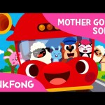 The Wheels on the Bus | Mother Goose | Nursery Rhymes | PINKFONG Songs for Children