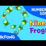 Nine Frogs | Number Songs | PINKFONG Songs for Children