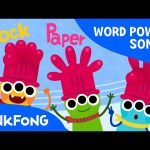 Rock Paper Scissors | Word Power | PINKFONG Songs for Children