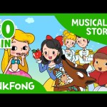 The Wolf and the Seven Sheep | Fairy Tales | Musical | + Compilation | PINKFONG Story Time