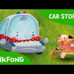 Super Popo to the Rescue | Police Car | Car Stories | PINKFONG Story Time for Children