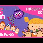 Favorite Fingerplay Songs Vol. 1 | Best Kids Songs | + Compilation | PINKFONG Songs for Children