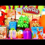 Play Doh Eggs Surprise Toys Christmas Videos Special Blind Boxes Kinder Joy Disney Cars Toy Club