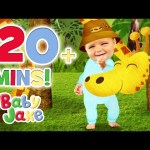 Baby Jake – Being Upside Down | 120+ minutes | Magic Baby Jake
