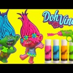 DIY Trolls Doh Vinci Desk Organizer and Shopkins Season 7 Surprises