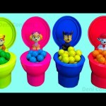 Paw Patrol Candy Toy Toilet Surprises Toys Learn colors kids Play Foam Ice Cream Mickey Mouse Tools