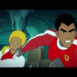 Supa Strikas – Season 5 Episode 58 –  Icy Grip