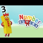 Numberblocks – Learn to Count | Three is the Magic Number