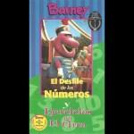 Barney – El Desfile de los Números y Ejercicios en el Circo (Spanish)