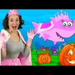 Halloween Baby Shark | Kids Songs and Nursery Rhymes | Halloween Songs from Bounce Patrol
