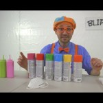 Blippi Painting Giveaway | Learn Colors With Paint