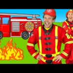 Firefighters Song for Kids – Fire Truck Song – Fire Trucks Rescue Team | Kids Songs