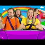 Let's Drive – Driving In My Car Song | Nursery Rhymes and Songs for Children