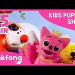 Baby Shark Dance and more | Kids' Puppet Show | +Compilation | Pinkfong Songs for Children