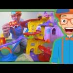 Educational Blippi Videos for Children   Learning Movement Verbs for Kids