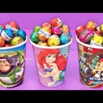 M&M Chocolate Candy Surprise Toys Kinder Man Care Bears Spider-Man Dory Learn Colors Play Doh Kids