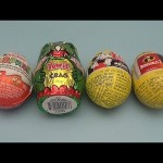 Surprise Eggs Learn Speed from Fastest to Slowest! Opening Kinder Surprise Mickey Mouse Incredibles!