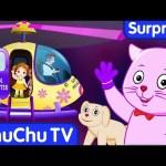 Surprise Eggs Nursery Rhymes Toys | Three Little Kittens | Learn Colours for Kids | ChuChuTV Cutians