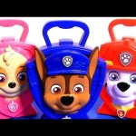 Chase Skye & Marshall Paw Patrol Music Carry Cases Toy Surprises