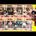 Incredibles 2 Movie Funko Pop Limited Edition Chaser Invisible Violet Baby Jack Jack