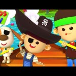 Row Row Row Your Boat | Little Eddie Cartoons | Children Songs & Nursery Rhymes – Kids TV