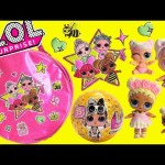 LOL Surprise Glitter Glam Handbag Confetti Pop Unicorn and Flower Child