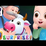 Old Macdonald Had A Farm – Farm Animals and Colors For Kids – ChuChuTV Surprise Eggs Learning Videos