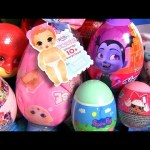 Surprise Baby Born Vampirina Peppa Pig LOL Dolls egg PJ Masks Tsum Tsum