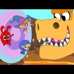 Morphle's Magic Portals – Magic Adventures with Friends (Fantasy Race cars and dinosaurs for Kids!