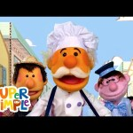 The Muffin Man   Kids Songs   Super Simple Songs