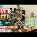 24 Hours with 6 Kids at Our Grandparents House!