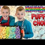 Rainbow Puppy Chow – Kid Size Cooking