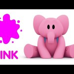 🦄Learn the colors with Pocoyo 🌸PINK   🎶 Educational Songs in English for Kids