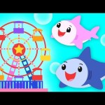 Baby Shark Carnival   DADDY SHARK WEEK   Mother Goose Club Kid Songs and Phonics Songs