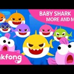 Baby Shark More and More   Baby Shark   Shark Family   Pinkfong Songs for Children