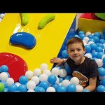 Indoor Playground For Kids. Video Live