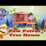 PAW PATROL  has a Candy Tree House Caper with Iron Man Toy Parody