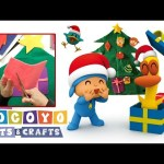 🎅POCOYO in ENGLISH – Arts & Crafts: Christmas Tree  | VIDEOS and CARTOONS FOR KIDS