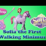 SOFIA THE FIRST Walking Minimus Toy Review