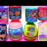 Surprise TOYS Vampirina Brain Blaster Peppa Huevos Sorpresa with Disney Egg Surprise