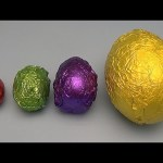 The Baby Big Mouth Show! Best of Colourful Mystery Surprise Eggs!