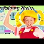 The Subway Shake + More | TRAIN SONG | Mother Goose Club Phonics Songs