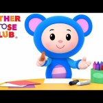 Animal Sound Songs| Learn Colors Nursery Rhymes from Mother Goose Club Kids Play Video | Children