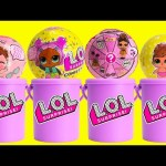 LOL Surprise Confetti Pop Series 3 Lil Sisters and Surprise Cans