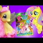 My Little Pony Fluttershy Sparkle Style Pony Toy Review & Salon Styling Kids Toys