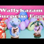 Opening Wallykazam Toys and Surprise Egg with a Letter Search Fun