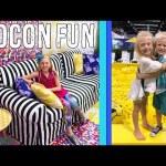 Alyssa's Dream Room & Michael Meets Everleigh – Vidcon Fun 2018
