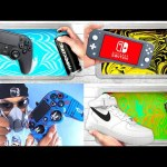 BEST of HYDRO Dipping Compilation   PS4 Controller + NINTENDO Switch + NIKE Air Force 1!