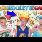 Chow Crown Flying Food || Family Fun Pack Game Night