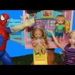 Disney Princess Kids Get Hurt at Barbie Playground In This Doll Parody Kids Toys